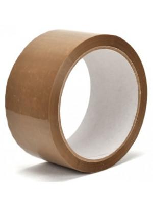 PP+Akryl tape 50mm/66m (brun, LN)