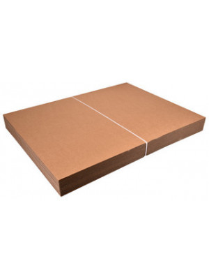 Pap ark 1150x750mm 1-lags bølge