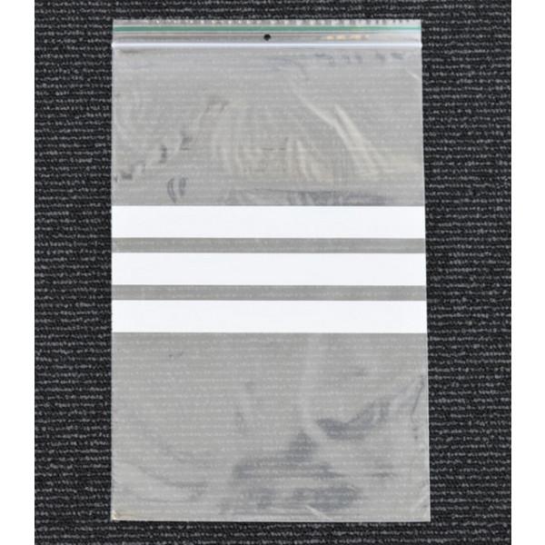 Lynlåsposer med skrivefelt 50µm